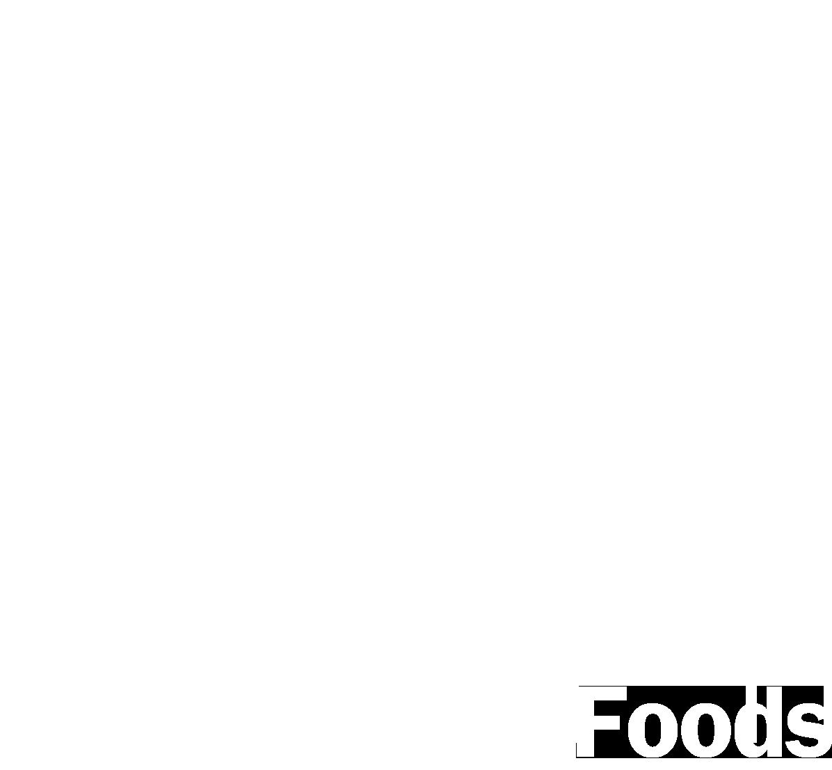 Rihanna Foods logo white